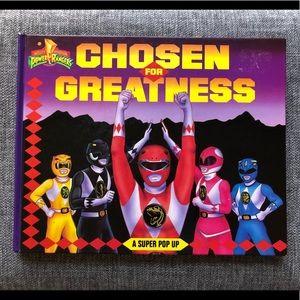 •Power Rangers• 'Chosen For Greatness' Pop Up Book
